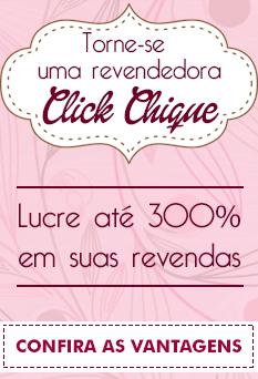 Banner para ser uma revendora da Click Chique