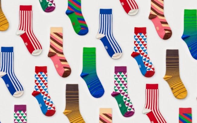 uma imagem sobre meias